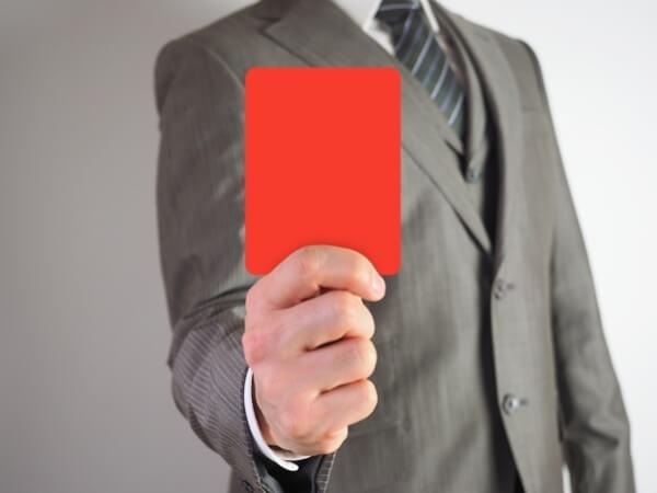 Omiaiのイエローカードが自分につくとヤバイ!違反報告の相手とマッチングした結果!?